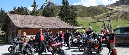 Motorradreisen Südtirol Kalcher-Alm