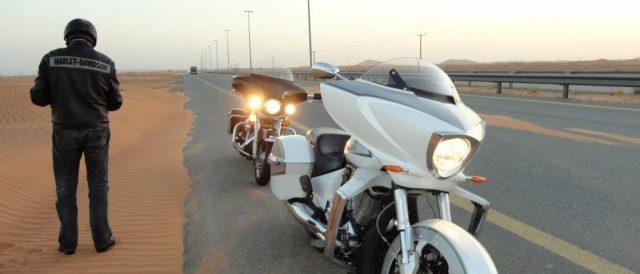 Motorradreisen Dubai Harley