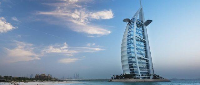 Motorradreisen Dubai Burj al Arab