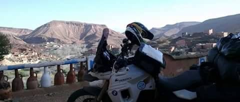 Motorradreisen Marokko Hotel Tifawen
