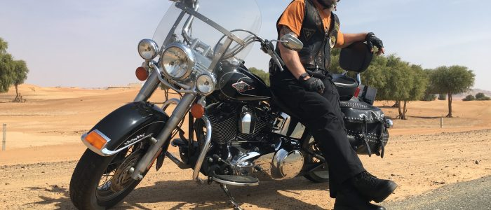 Motorradreisen Dubai Wüste