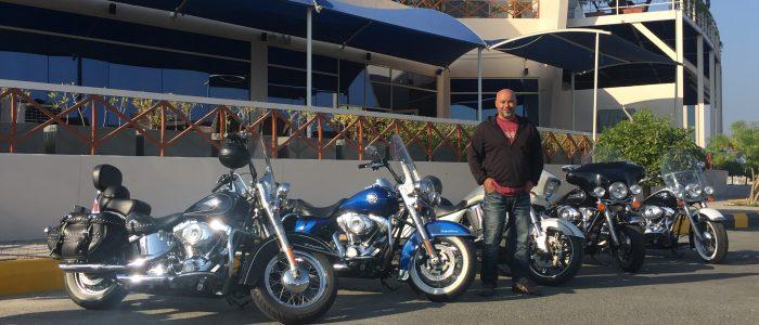 Motorradreisen Dubai Harley Davidson Vermietung