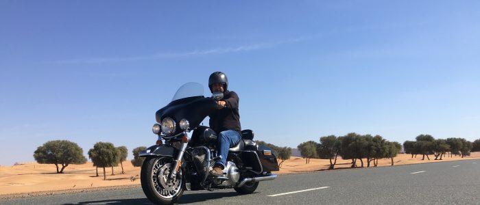 Motorradreisen Dubai Harley Davidson