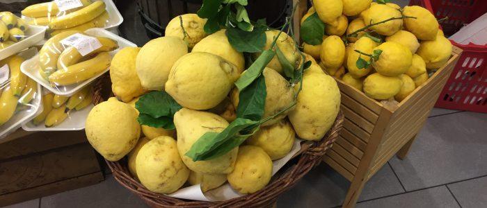 Motorradreisen Italien Abruzzen Zitronen