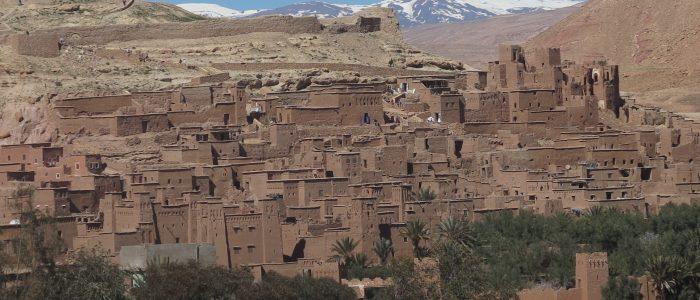 Motorradreisen Marokko Kasbahs