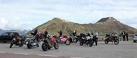 Motorradreisen Südtirol Penserjoch