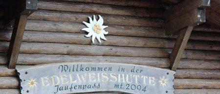 Motorradreisen Südtirol Jaufenpass Edelweisshütte