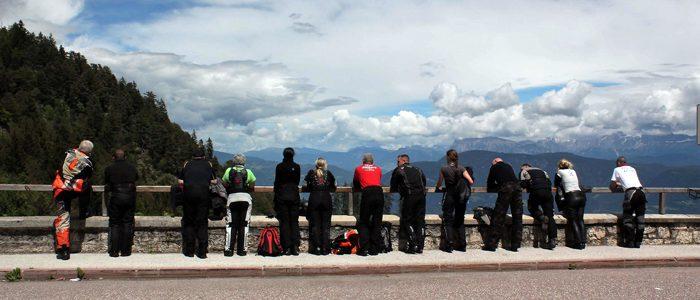 Motorradreisen Südtirol Mendelpass
