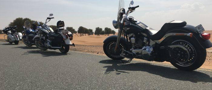 Motorradreisen Dubai Pause