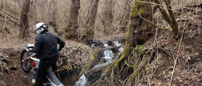 Motorradreisen Enduro Bosnien Waldabenteuer