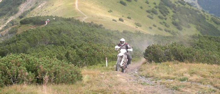 Motorradreisen Enduro Bosnien Bergziege